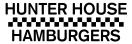 Hunter House Hamburgers Menu
