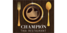 Champion Thai Restaurant Menu