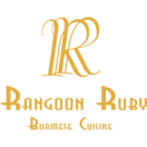 Rangoon Ruby Menu