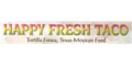 Happy Fresh Taco Menu