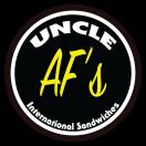 Uncle Af's Menu