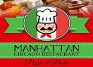 Manhattan Chicago Kendall Pizza Menu