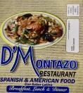D' Montazo Restaurant Menu