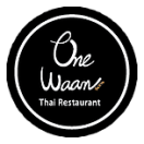 One Waan Thai Menu