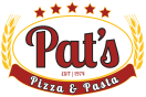 Pat's Pizza & Pasta/MVP Sports Bar Menu
