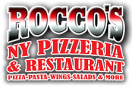 Rocco's New York Pizza Menu