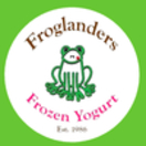 Froglanders Frozen Yogurt Menu