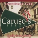 Caruso's Pizza Menu