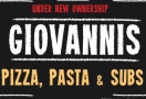 Giovanni's Pizzeria Menu