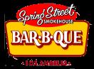Spring Street Smokehouse Menu