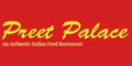 Preet Palace Indian Cuisine Menu
