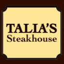 Talia's Steakhouse Menu