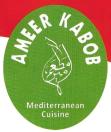 Ameer Kabob Mediterranean Cuisine Menu