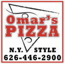 Omar's Pizzeria Menu