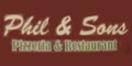 Phil & Sons Pizzeria & Restaurant Menu