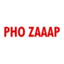 Pho Zaaap Menu