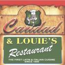 Caridad & Louie's Restaurant Menu