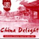 China Delight Menu