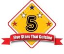 Five Stars Thai Cuisine Menu