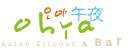OHYA Sushi, Korean Kitchen Menu