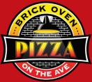 Brick Oven Pizza Menu