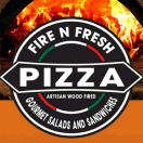 Fire n Fresh Pizza Menu