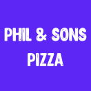 Phil & Sons Pizza Menu