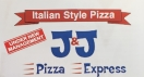 JJ's Pizza Menu