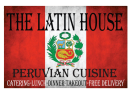 The Latin House Menu