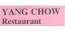 Yang Chow Restaurant Menu