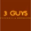 3 Guys Pizzeria Menu