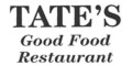 Tate's Good Food Restaurant Menu