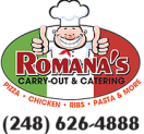 Romana's Carryout and Catering Menu