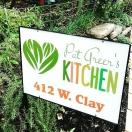 Pat Greer's Kitchen Menu
