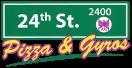 24th Street Pizza & Gyros Menu