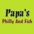 Papa's Philly and Fish  Menu