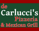 de Carlucci's Pizza Menu