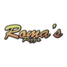 Roma's Pizza Menu