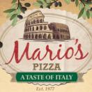 Mario's Pizza a Taste of Italy Menu