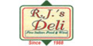 RJ's Deli and Catering Menu