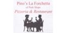 Pinos La Forchetta Pizzeria Menu