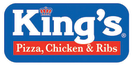 King's Pizza 1 Menu
