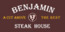 Benjamin Steakhouse Menu