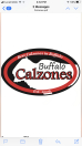 Buffalo Calzones Menu