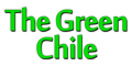 The Green Chile Menu