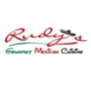 Rudy's Mexican Gourmet Menu