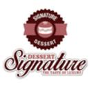 Signature Dessert Menu