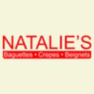 Natalie's Baguette Menu