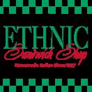Ethnic Sandwich Shop Menu