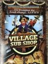 Village Sub Shop Menu